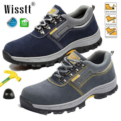 c4b0ade23c4 MEN'S SAFETY SHOES Steel Toe Breathable Work Boots Outdoor Hiking Climbing  Shoes