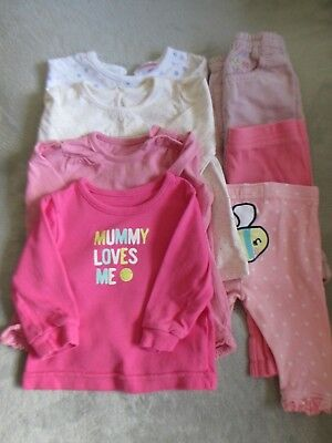 Baby Girls Clothing Bundle. Age 3-6 Months. X22 Items Tops, Trousers, Leggings