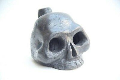 Aztec Death Whistle black clay produces most frightening horrible sounds scary!