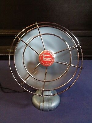"TORCAN Vintage 9"" Fan in Great working Condition"