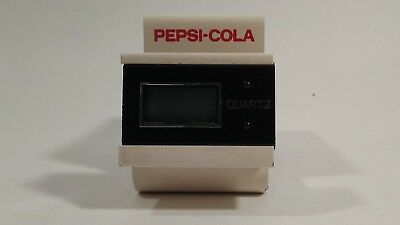 Vintage pepsi quartz clock office  collectable