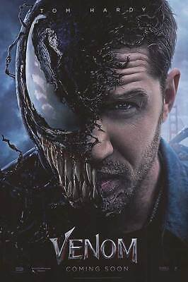 Venom 2nd Advance Intl Double Sided Original Movie Poster 27x40 inches