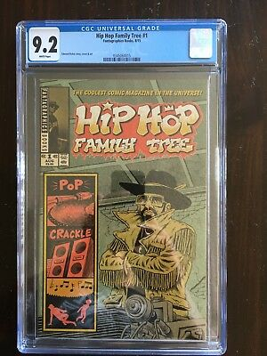 Hip Hop Family Tree #1 CGC 9.2 White Pages NM- Ed Piskor X-Men Grand Design
