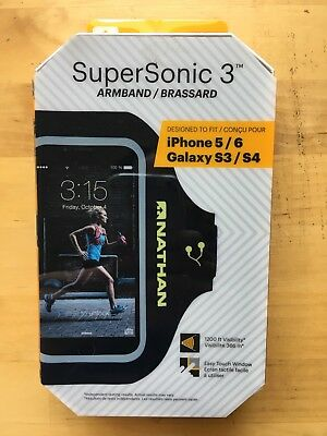 Nathan SuperSonic 3 Sports Armband IPhone 5/6 Galaxy S4/S5