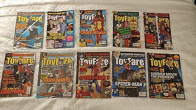 Toyfare by Wizard Magazine Issues 110 111 112 113 114 115 116 117 118 119 - 2007