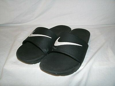 cd86edb8eed291 NIKE MEN S KAWA Black Slide Sandals 832646-010 sz 9 -  19.79