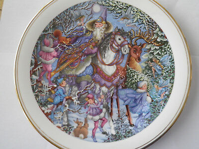 Royal Doulton Plate Collectors' Gallery Edition- Spellbinder Winter Magic