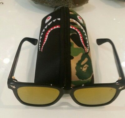 39396c13b7 AUTHENTIC A BATHING Ape Sunglasses Parka S 04 square framed ...
