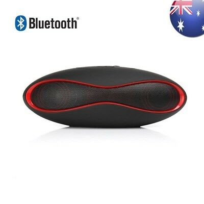 Rugby Bluetooth Wireless Speaker Music Bar AUX USB MicroSD for iPhone Android