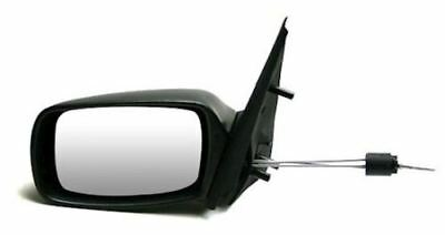 Ford Fiesta 1999 - 2001 Door Wing Mirror Manual Cable Black Left Near Side