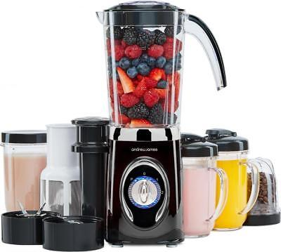 Andrew James Smoothie Maker & Blender 4 in 1 Machine with Ice Crusher & Juicer