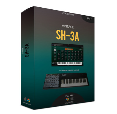 ROLAND SH3A VST Plug-in samples sounds synth strings analog FL STUDIO MAGIX