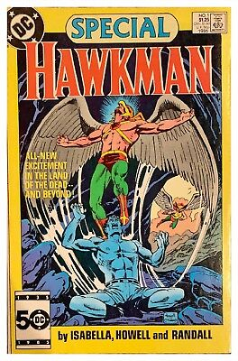 Hawkman Special #1 1986 DC Bagged & Boarded - Free U.S. Shipping - NM