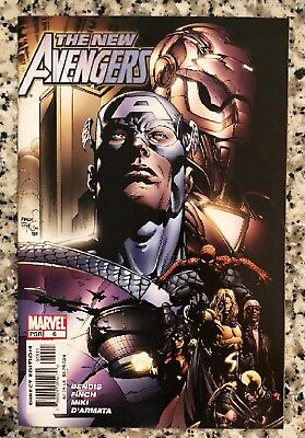 New Avengers #6 June 2005 Marvel Comics Bagged Boarded Free US Shipping NM