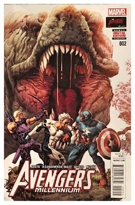 Avengers Millennium 2 Marvel June 2015 Bagged Boarded Free US Shipping VF