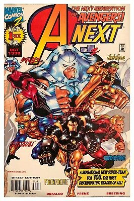 A Next 1 October 1998 Marvel Next Generation of Avengers Bagged Boarded VF