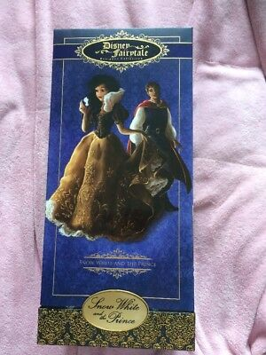 Disney Fairytale Collection Snow White and the Prince Limited Edition Dolls