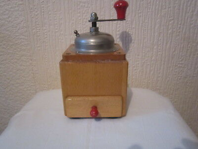 Vintage Antique Zassenhaus Coffee Mill Grinder.