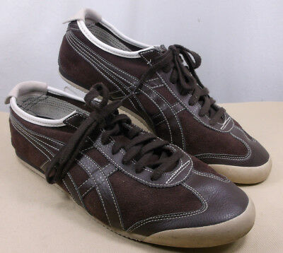 official photos 813c0 6e2e8 ASICS ONITSUKA TIGER Mexico 66 Brown 46.5 Athletic Sneaker Shoes Men's 12 US