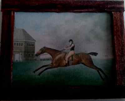 Dolls House A George Stubbs Horse painting