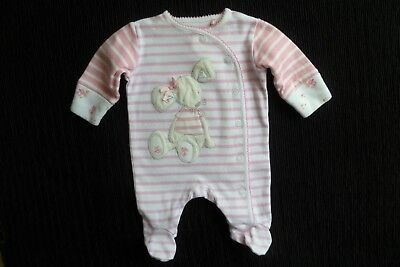 Baby clothes GIRL premature/tiny<7.5lbs/3.4kg NEXT fun mouse babygrow SEE SHOP!