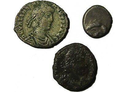 Lot Of 3 Ancient Coins,  Rare