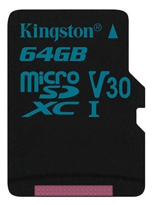 Kingston Canvas Go Micro SDXC Class 10 UHS-I U3 90MBs 64GB