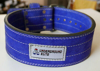 Powerlifting Belt Single Prong Weight Lifting Gym Belt