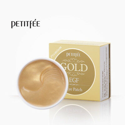 PETITFEE Premium GOLD&EGF Eye Patches 60pcs [Made in Korea]
