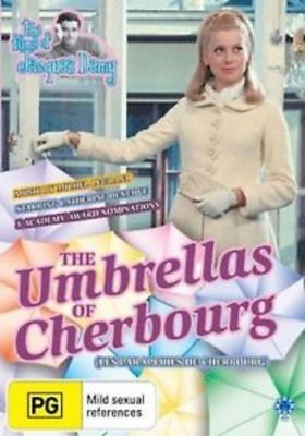 The Umbrellas Of Cherbourg DVD New and Sealed Australia All Regions