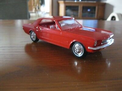1966 Red Ford mustang promo car