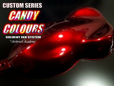 Custom-Series Blood RED Candy Paint , Pre mixed, 1000ml -1 litre,  Helmet,
