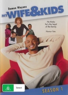 My Wife & And Kids Season 1 DVD New and Sealed Australia All Regions