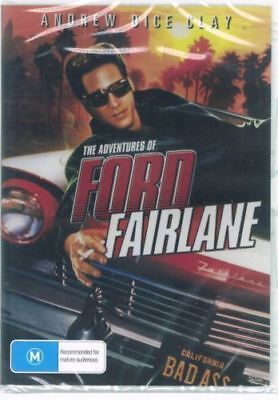 The Adventures Of Ford Fairlane DVD New and Sealed Australia All Regions