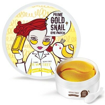 DEWYTREE Prime Gold Snail Eye Patches 90g-60 Sheets  [Made in Korea]