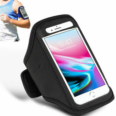 For APPLE iPhone X 8 Plus 7 6s 5s Running Jogging Gym Armband Case Cover Holder