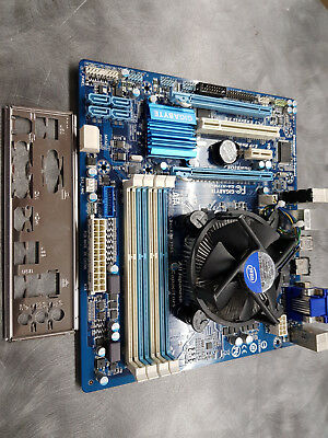 Gigabyte Mainboard H77M-D3H incl. CPU Intel i3-3220 3,3 GHz.