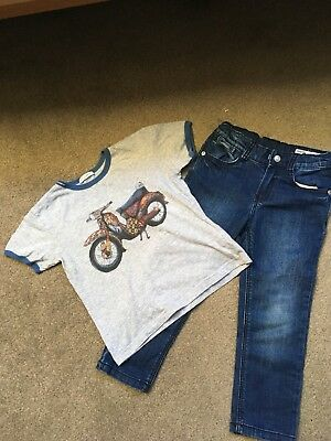 D & G T Shirt Age 3a & Dkny Jeans Age 3