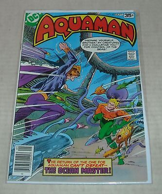 Hi GRADE KEY 1978 DC Comics AQUAMAN #63 LAST ISSUE v OCEAN MASTER BELOW GUIDE