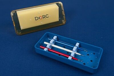DORC DALC Spatula Dissection Set In Sterilization Tray