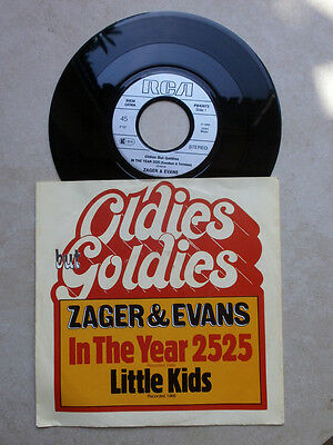 Single - Zager & Evans - In the year 2525 / Little Kids - Beat 60er Jahre!