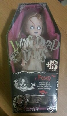 Living Dead Dolls 13th Anniversary VARIANT Posey New sealed Neu series 1 Remake