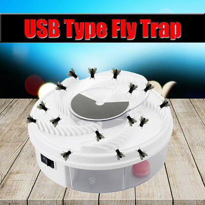 Automatic Electric USB Flycatcher Catcher Mosquito Zapper Fly Trap Pest Control