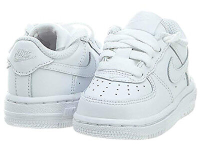 big sale a9228 02f5f Nike Air Force 1 Toddlers Uptown Classic Leather Low Top White Shoes  314194-117