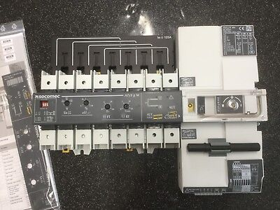 Socomec Automatic Switching Equipment ATyS g M New