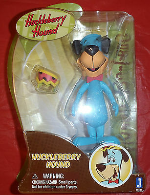 "Hanna Barbera Huckleberry Hound 6""  Action Figure Toy Ages 4+ New in Box"