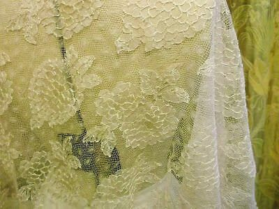 1920's - 30's Pale Pink Lace Panel
