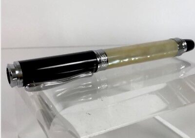 Libelle Nature Collection Faux Mother-Of-Pearl Marbled Resin Rollerball Pen
