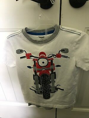 Boys Gymboree Motorcycle Short set Size 6