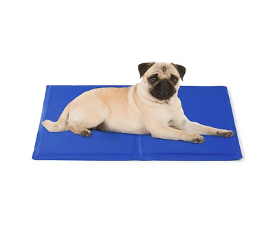 Dog Cooling Mat Pet Cat Cool Non-Toxic Summer Gel Bed Pad Indoor Cushion NEW